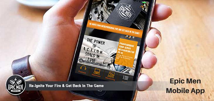 Epic Men Mobile App
